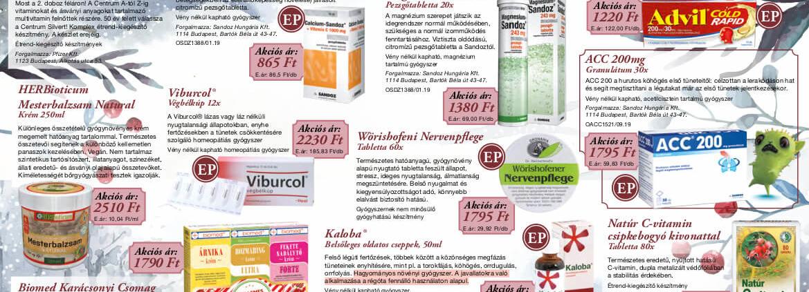 Ügyeletes gyógyszertár decemberi akció - Elefantpatika.hu