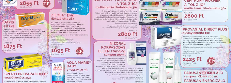 Ügyeletes gyógyszertár májusi akció - Elefantpatika.hu