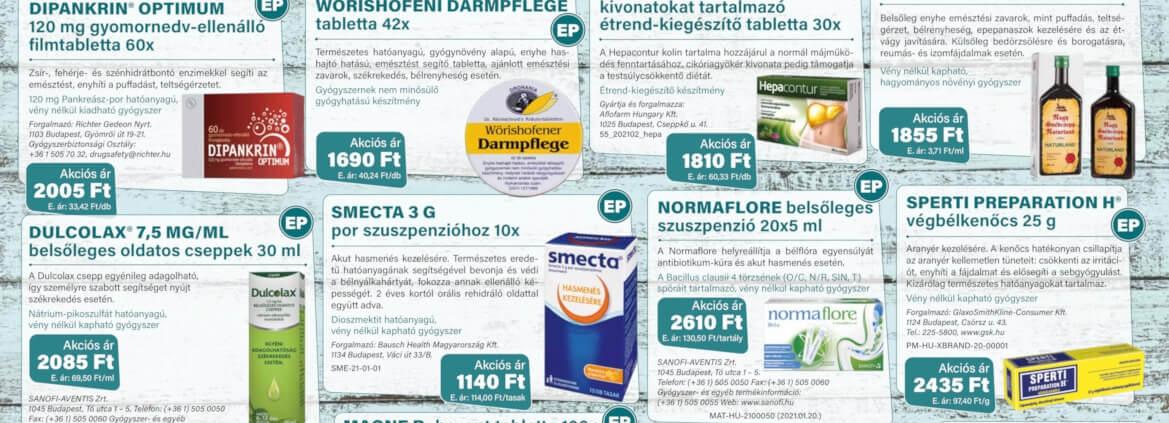 Ügyeletes gyógyszertár márciusi akció - Elefantpatika.hu