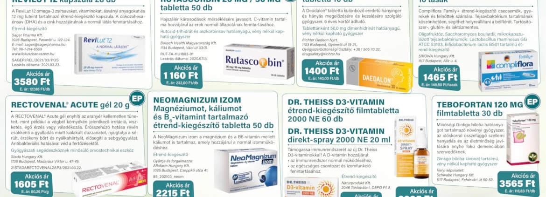 Ügyeletes gyógyszertár áprilisi akció - Elefantpatika.hu