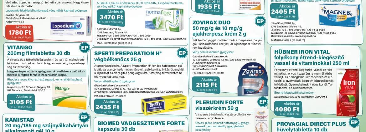 Ügyeletes gyógyszertár május akció - Elefantpatika.hu