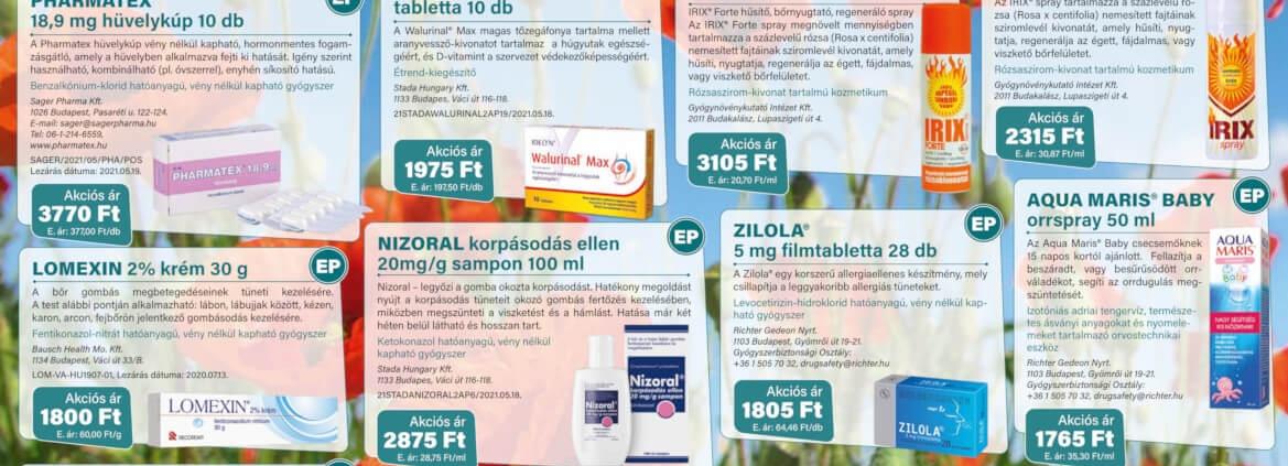 Ügyeletes gyógyszertár június akció - Elefantpatika.hu