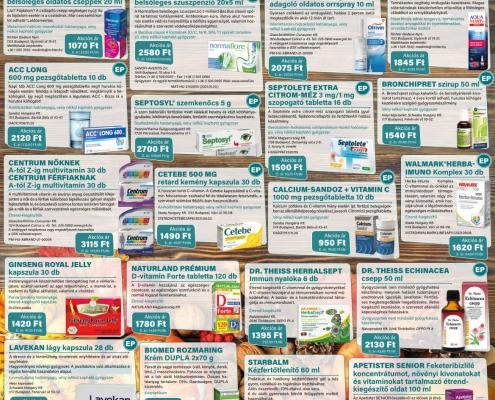 Ügyeletes gyógyszertár október akció - Elefantpatika.hu